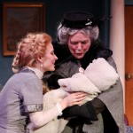 """Jennifer Sue Johnson as Nora and Jody McCoy as Anne-Marie in Seattle Shakespeare Company's 2013 production of """"A Doll's House."""" Photo by John Ulman."""