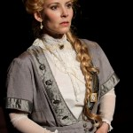 """Jennifer Sue Johnson as Nora in Seattle Shakespeare Company's 2013 production of """"A Doll's House."""" Photo by John Ulman."""