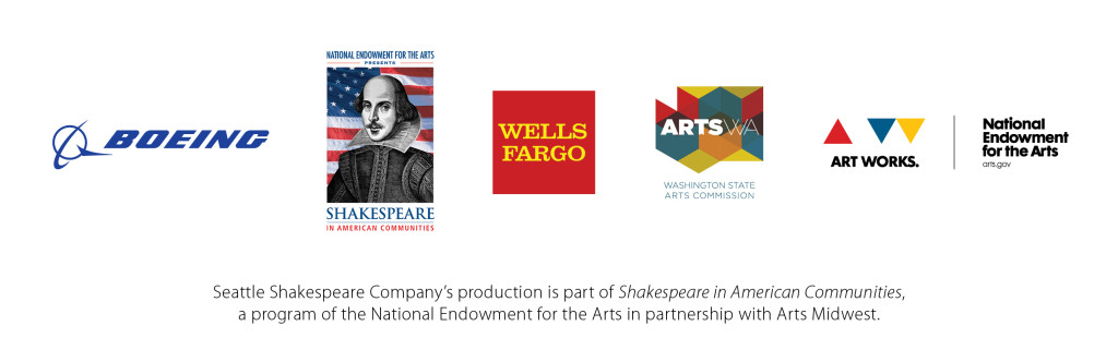 Seattle Shakespeare Touring Sponsors 2015