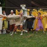 """The cast of Seattle Shakespeare Company's 2012 Wooden O production of """"The Winter's Tale."""" Photo by Alan Alabastro"""