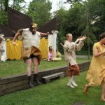 """The cast o Seattle Shakespeare Company's 2012 Wooden O production of """"The Winter's Tale."""" Photo by Alan Alabastro"""