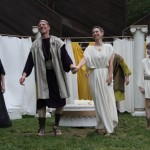 """The cast of in Seattle Shakespeare Company's 2012 Wooden O production of """"The Winter's Tale."""" Photo by Alan Alabastro"""