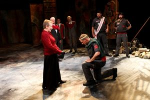 The cast of Seattle Shakespeare Company&#039;s 2012 production of &quot;Coriolanus.&quot; Photo by John Ulman.