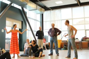 Antony and Cleopatra Rehearsal