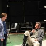 Mickey Rowe as Moth and David Quicksall as Don Armado.