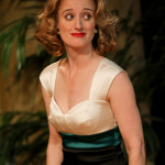 "Jennifer Lee Taylor as Beatrice in Seattle Shakespeare Company's 2013 production of ""Much Ado About Nothing."" Photo by John Ulman."