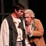 "Nathan Graham Smith as Orlando and David S. Klein as Adam in Seattle Shakespeare Company's 2012 production of ""As You Like It."" Photo by John Ulman"