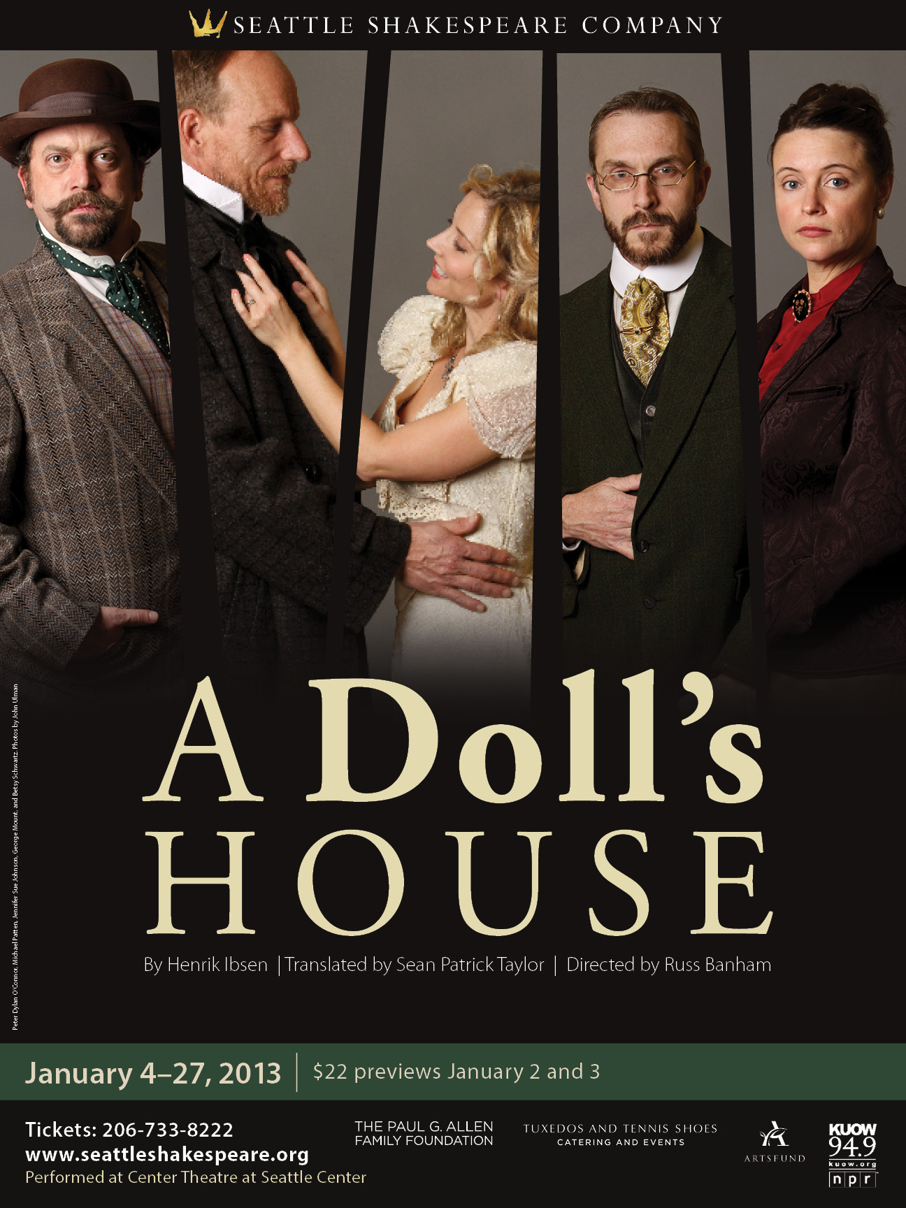 a doll s house seattle shakespeare company