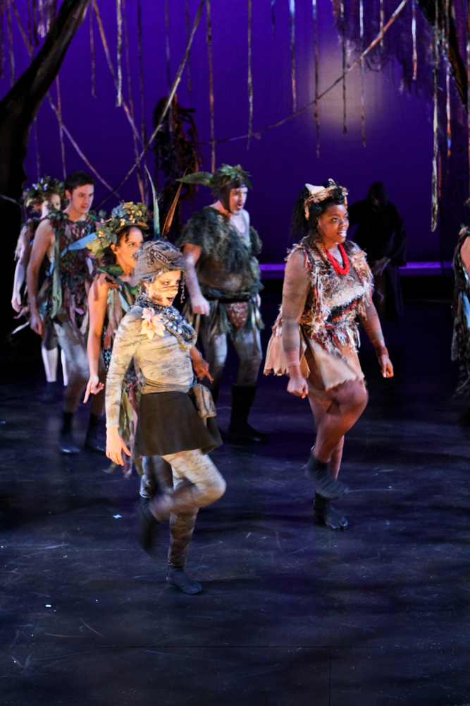 """The cast of Seattle Shakespeare Company's 2011 production of """"A Midsummer Night's Dream."""""""