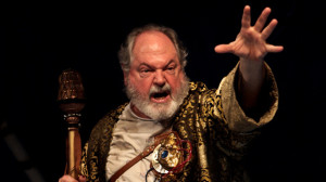 "Michael Winters as Prospero in ""The Tempest"" (2009)."