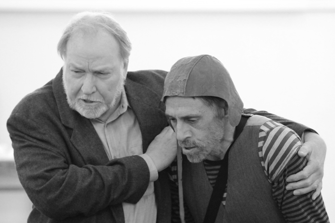 """A First Look at """"King Lear"""" in Rehearsal"""