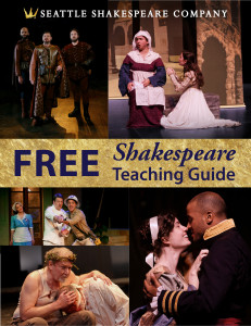 Free Shakespeare Teaching Guide cover