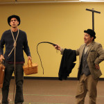 Jim Hamerlinck as Lucky and Chris Ensweiler as Pozzo