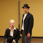 Darragh Kennan as Estragon and Todd Jefferson Moore as Vladimir