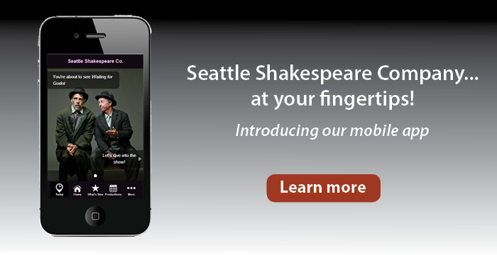 Seattle Shakespeare Company Mobile App
