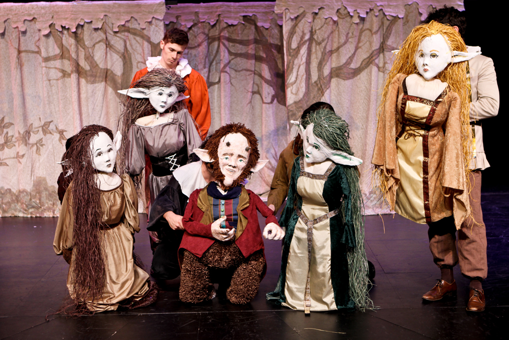 The cast of A Midsummer Night's Dream