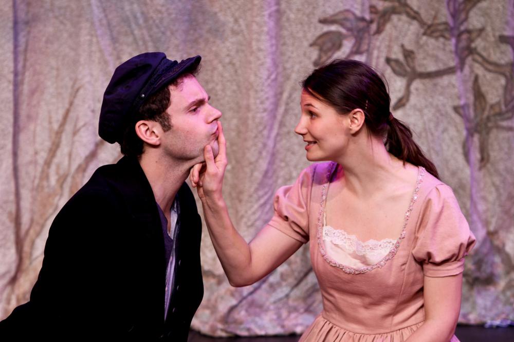 Alex Garnett and Nicole Fierstein