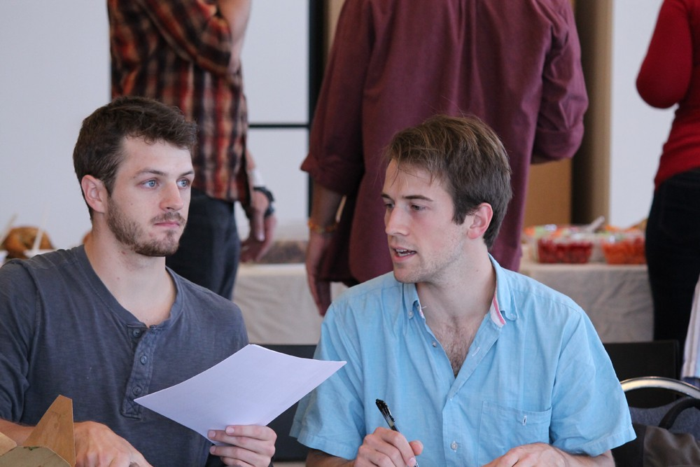 Twelfth Night First Rehearsal
