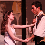 Anastasia Higham and Noah Greene