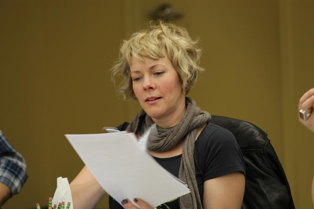 Tartuffe First Rehearsal