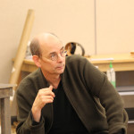 Larry Paulsen in rehearsal for Mother Courage and Her Children