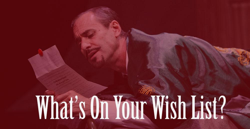SSC Holiday Wish List