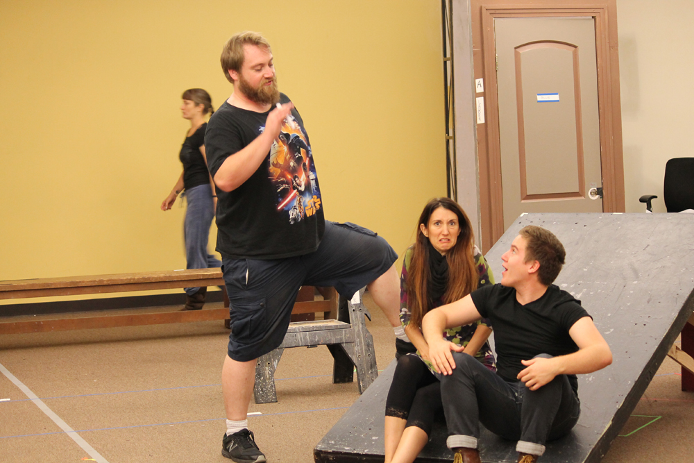 The Comedy of Errors (2015) Rehearsal