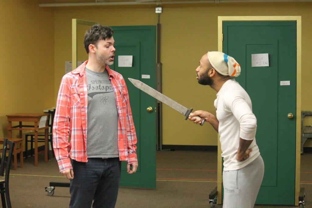 The Rivals Rehearsal
