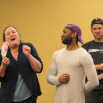 She Stoops to Conquer Rehearsal